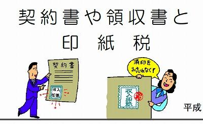 領収書の印紙税